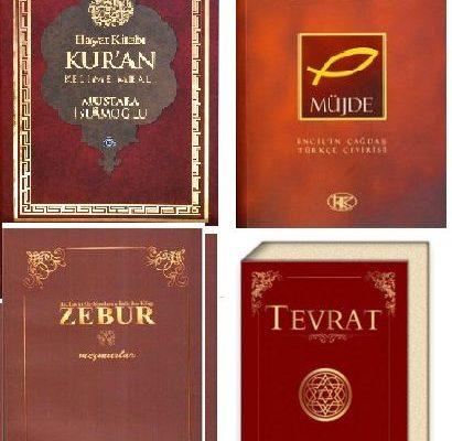 4 Büyük Kutsal Kitap