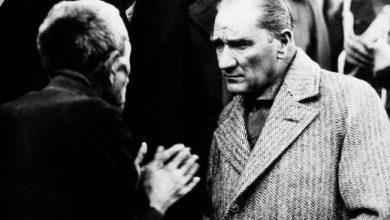 Atatürkün Vatandaşla Olan Bir Fotoğrafı (1)