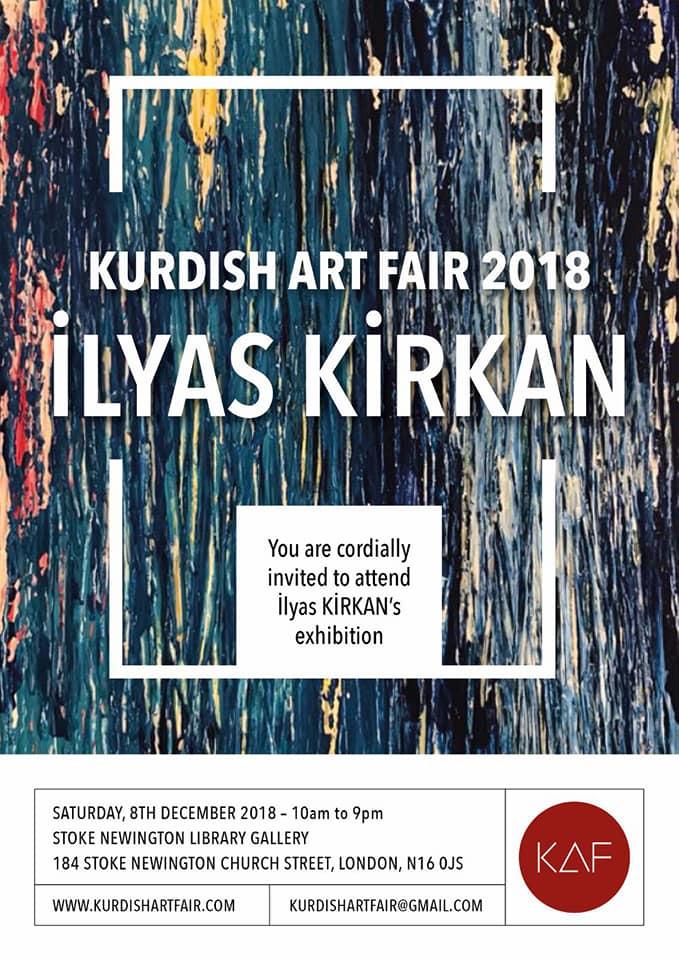 Kurdish Art Fair 2018 İlyas Kırkan