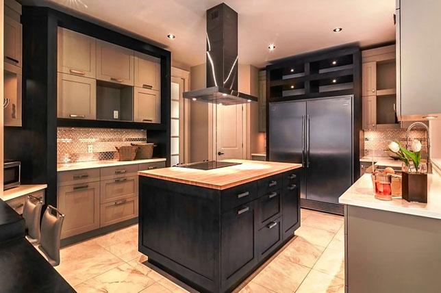 Siyah Mutfak Modelleri 2019 1