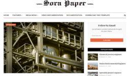 Sora Papper Blogger Teması