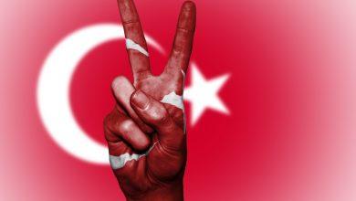 Türk Bayraklı İşaret Parmağı