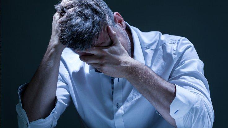 Depresyonda Olan Bir Adam