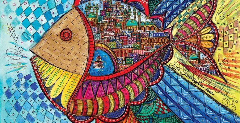 1000 Parça Balık Puzzle