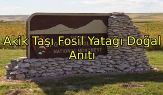 Akik Taşı Fosil Yatağı Doğal Anıtı