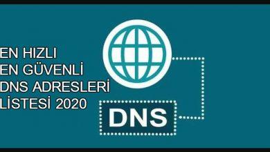 2021 En Hızlı Güncel DNS Adresleri 1