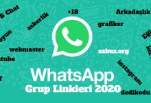 WhatsApp Grup Linkleri Türkiye 2020 3