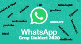 WhatsApp Grup Linkleri Türkiye 2020 4