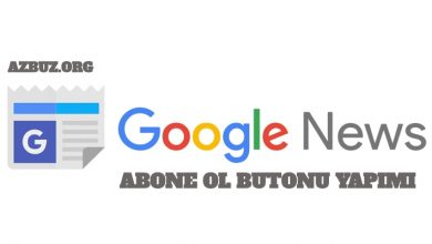 Google News Abone Ol Butonu Yapımı ( Çalışan Yöntem) 1