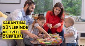 Karantinada Çocuklar İçin Evde Aktivite Önerileri 11