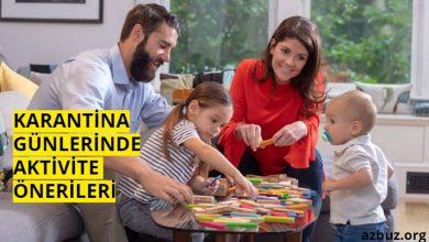 Karantinada Çocuklar İçin Evde Aktivite Önerileri 1