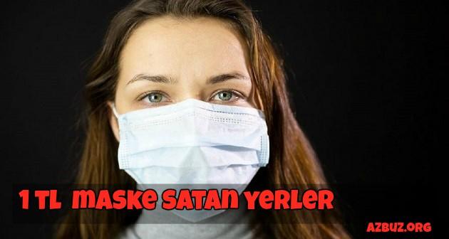 Maske 1TL ' den Satan Yerler 1