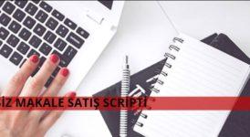 Ücretsiz Makale Satış Scripti 2020 Açık Kaynak Kodlu 1