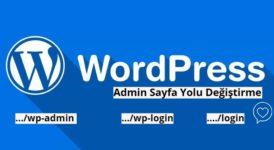Wordpress Admin Sayfası Değiştirme Wp-Admin Wp-login Değiştirme 5