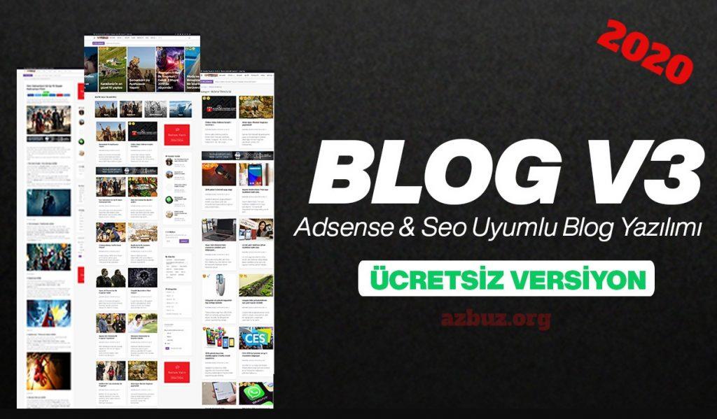 Seo Uyumlu Blog Scripti 2020 4