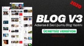 Seo Uyumlu Blog Scripti 2020 8