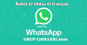 WhatsApp Grup Linkleri Türkiye 2020 6