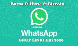 2020 Borsa  Para ve  Hisse Whatsapp Grupları 7