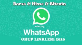 2020 Borsa  Para ve  Hisse Whatsapp Grupları 25