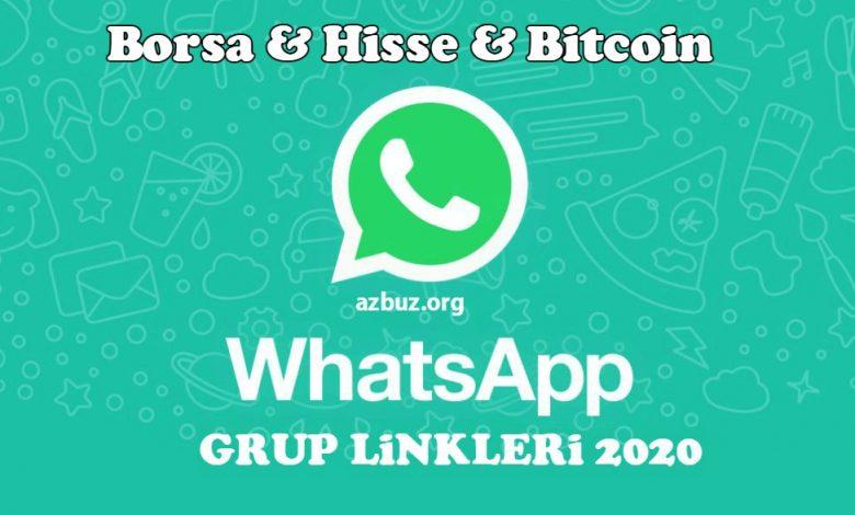 2020 Borsa Para ve Hisse Whatsapp Grupları 1