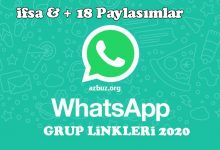 2020 18 İfşa Whastapp Grupları 3