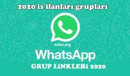 2020 İş İlanları Whatsapp Grupları 9
