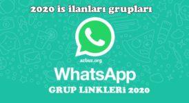 2020 İş İlanları Whatsapp Grupları 18