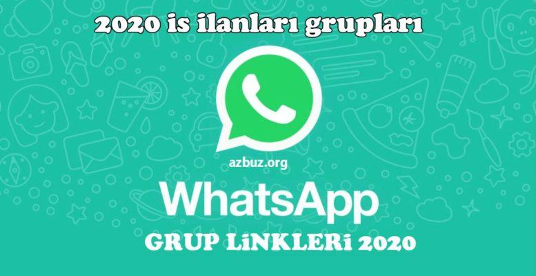 2020 İş İlanları Whatsapp Grupları 1