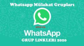 Whatsapp Mülakat Grup Linkleri 2020 10