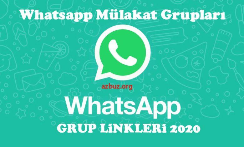 Whatsapp Mülakat Grup Linkleri 2020 1