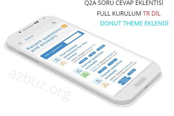 A 'dan Z' ye Q2A Soru Cevap Scripti Kurulumu TR 2020 1