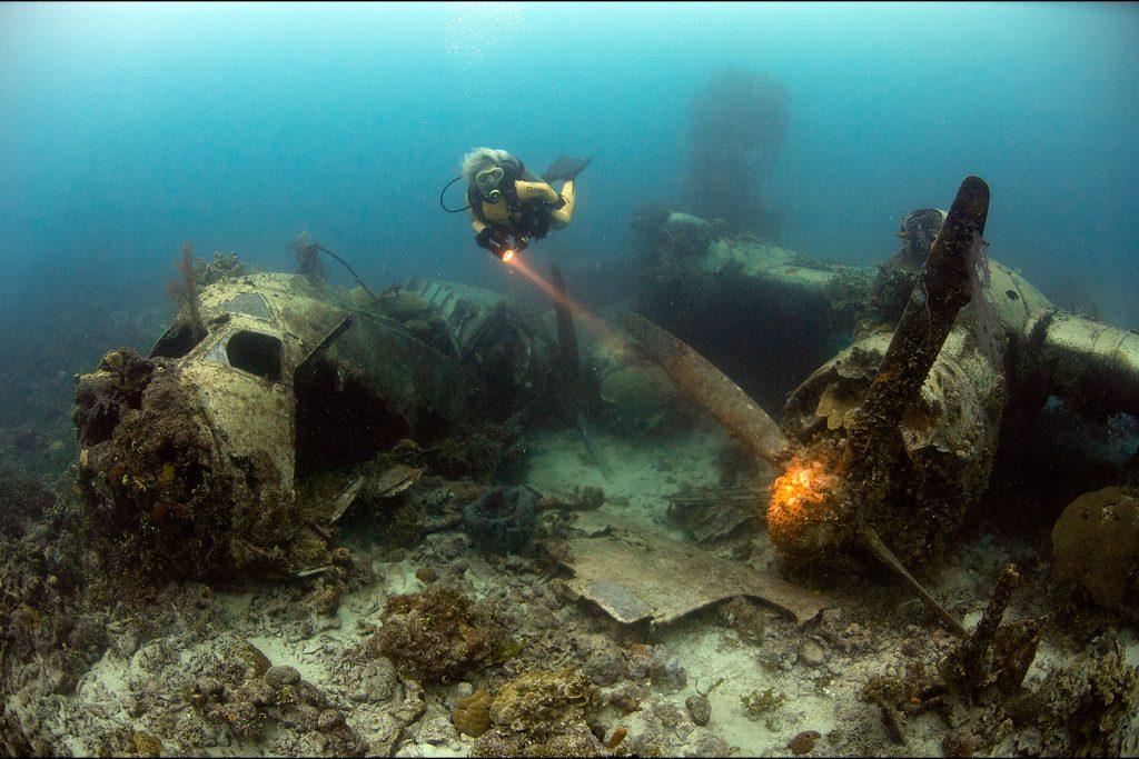 Truk Lagoon Sualtı Mezarlığı