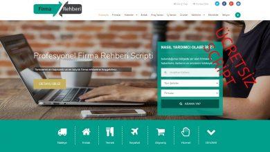 Ücretsiz Firma Rehberi Scripti 2021 1