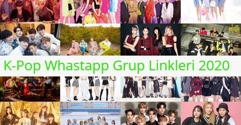 K-Pop Whastapp Grup Linkleri 2020 1