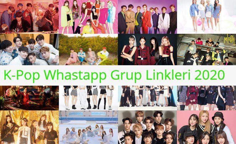 K-Pop Whastapp Grup Linkleri 2021 1