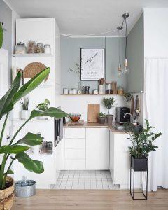 Küçük Mutfaklar İçin Dekorasyon Önerileri 25
