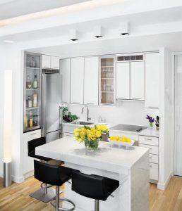 Küçük Mutfaklar İçin Dekorasyon Önerileri 36