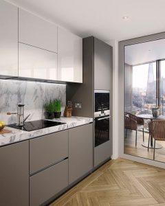Küçük Mutfaklar İçin Dekorasyon Önerileri 38
