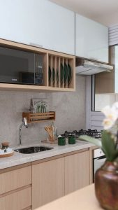 Küçük Mutfaklar İçin Dekorasyon Önerileri 46