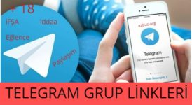 2020 Telegram Grupları +18, İfşa, İPTV, 15