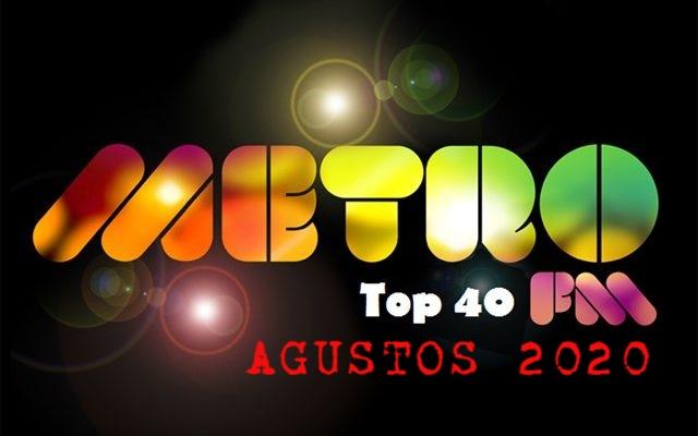 Metro FM TOP40 List Ağustos 2020 2