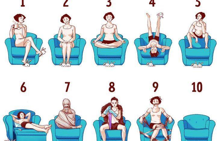 Oturma Biçiminiz Kişiliğiniz Hakkında Çok Şey Anlatabilir 1
