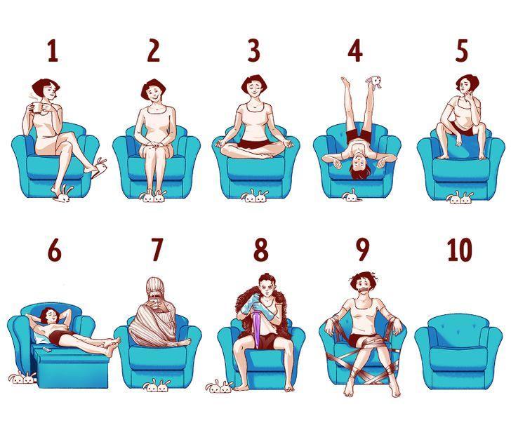 Oturma Biçiminiz Kişiliğiniz Hakkında Çok Şey Anlatabilir 2