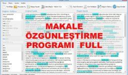 Makale Spinleme Programı Full 4