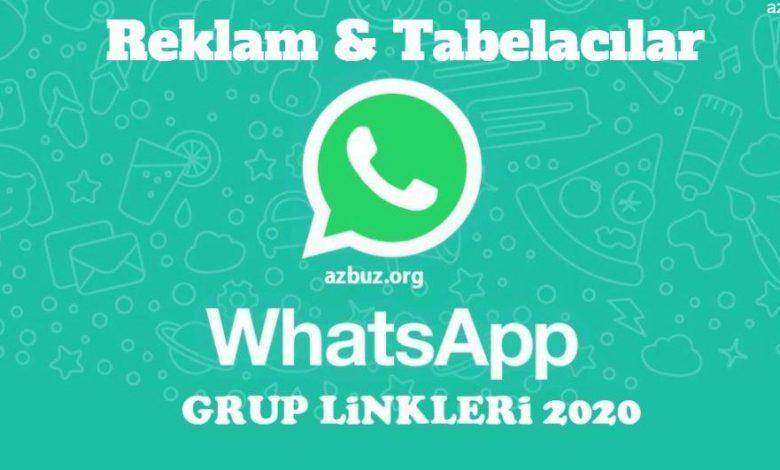 Reklam ve Tabelacılar Whatsapp Grupları 1