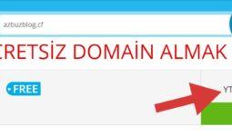 Ücretsiz Domain Alma - Bedava Domain 1