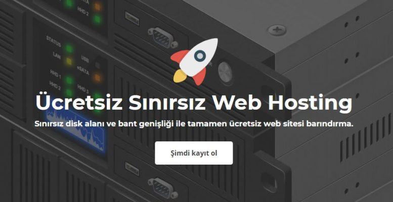 Ücretsiz Sınırsız  Hosting Alma + Ücretsiz SSL 1