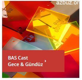 BAS Renk Kartelası ( Birleşik Akrilik) 4