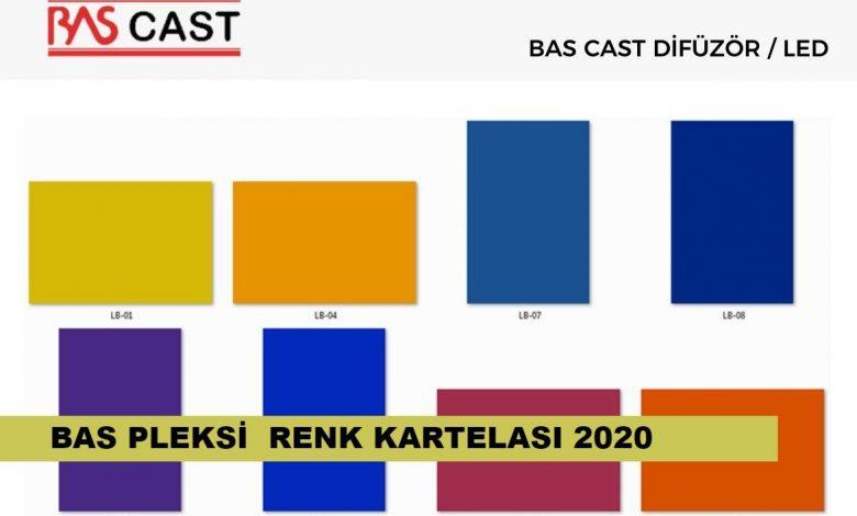 BAS Renk Kartelası ( Birleşik Akrilik) 1