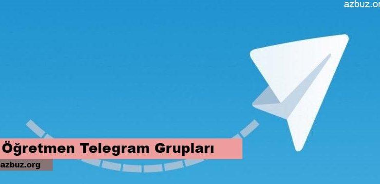 Öğretmenler Telegram Grupları 2020 1